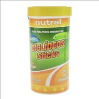 Ração Nutral Ciclídeos Sticks - 60gr