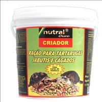 Ração Nutral Ouro para Tartaruga, Jabuti ou Cágado - 1,3kg