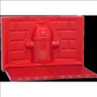 Kit Pipidollys para Machos - Vermelho com Hidrante Vermelho
