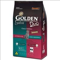 Ração Golden DUO Gatos Adultos - Salmão e Cordeiro - 10kg