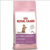 Ração Royal Canin Feline Health Nutrition Kitten Sterilised para Gatos Filhotes de 6 a 12 meses Raçã