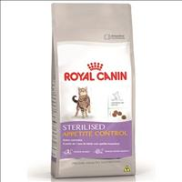 Ração Royal Canin Feline Health Nutrition Sterilised Appetite Control para Gatos Adultos - 1,5 Kg