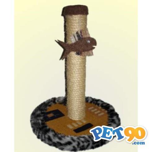 Brinquedo Arranhador Redondo com 1 Base - Estampas Variadas