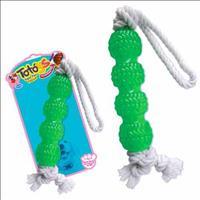 Brinquedo Totóys Tração com Corda Flex Sabor Chocolate - Cores Variadas