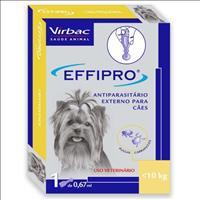 Anti Pulgas e Carrapatos Virbac Effipro para Cães Anti Pulgas e Carrapatos Virbac Effipro de 0,67 mL