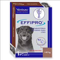 Anti Pulgas e Carrapatos Virbac Effipro para Cães Anti Pulgas e Carrapatos Virbac Effipro de 2,68 mL