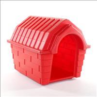 Casa Plástica Clicknew Inteiriça - Vermelho Casa Plástica Clicknew Inteiriça Vermelho - N. 01