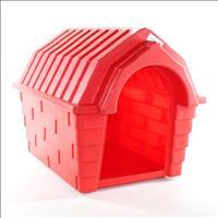 Casa Plástica Clicknew Inteiriça - Vermelho Casa Plástica Clicknew Inteiriça Vermelho - N. 02