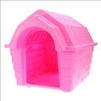 Casa Plástica Clicknew Inteiriça - Rosa Casa Plástica Clicknew Inteiriça Rosa - N. 02