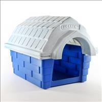 Casa Clicknew com Chaminé - Azul com Mármore Casa Clicknew com Chaminé Azul com Mármore - N. 01