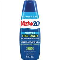 Shampoo Vet + 20 Tira Odor - 500 mL