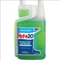 Desinfetante Bactericida Vet + 20 Concentrado - 2 Litros