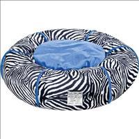 Cama Sleep Dog Zebra - Azul
