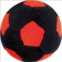 Brinquedo Bolinha - Preto com Vermelho