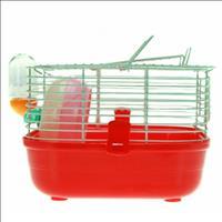 Gaiola Hamster Completa Pop Star Caninos Brancos - Vermelho