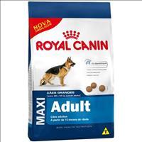 Ração Royal Canin Maxi Adult para Cães Adultos Grandes a partir de 15 Meses de Idade - 15 Kg