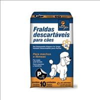 Fraldas Descartáveis Pet Society - Tam P