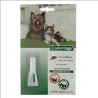 Anti Pulgas Advantage para Cães e Gatos Advantage Cães e Gatos - 0,4ml