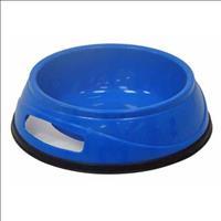Comedouro Plástico Antiderrapante - Azul Comedouro Plástico Antiderrapante Azul - Nº 01