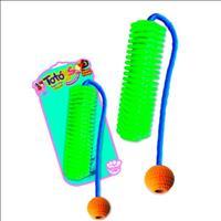 Brinquedo Totóys Anéis com Corda Flex Sabor Frango - Cores Variadas
