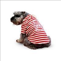 Camiseta Moleton - Vermelho Camiseta Moleton Vermelho - Tam 06