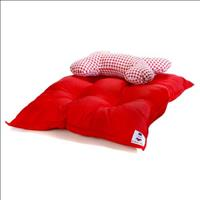 Colchão Conforto - Vermelho Colchão Conforto Tam P - Vermelho