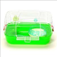 Gaiola Hamster Completa Pop Star Caninos Brancos - Verde