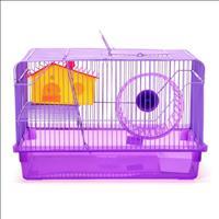 Gaiola Hamster 2 Andares - Roxo
