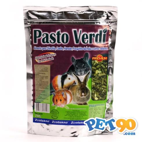 Alimento Zootekna Pasto Verdi - 250gr