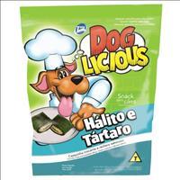 Petisco Total Dog Licious Hálito e Tártaro - 65gr