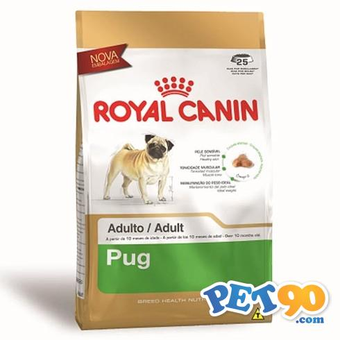 Ração Royal Canin para Cães Adultos da Raça Pug - 3 Kg