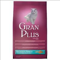 Ração GranPlus Adulto Gato - Salmão e Arroz - 1kg