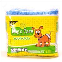 Fralda Higiênica Dogs Care Ecofralda Gel para Macho - 12 Unidades Fralda Higiênica Dogs Care Ecofral