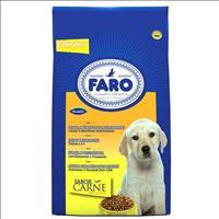 Ração Faro Filhotes Pedaços Macio Carne - 8kg