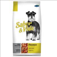 Ração Sabor e Vida Adultos Frango - Guabi Pet Ração Sabor e Vida Adultos Frango - 2,7kg