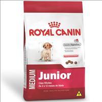 Ração Royal Canin Medium Junior para Cães Filhotes de Raças Médias de 2 a 12 Meses de Idade - 3 Kg