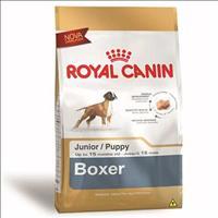Ração Royal Canin para cães Filhotes da Raça Boxer - 12 Kg
