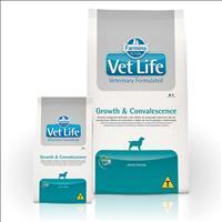 Ração Farmina Vet Life Growth & Convalescence para Cães Adultos em Recuperação Nutricional - 10kg