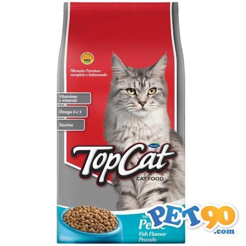 Ração Top Cat Peixe - 1kg