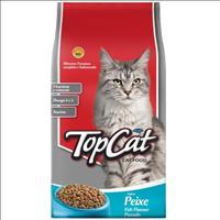 Ração Top Cat Peixe - 25kg