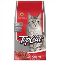 Ração Top Cat Carne - 25Kg