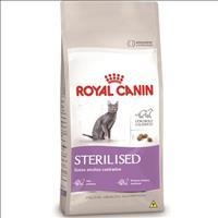 Ração Royal Canin Sterilised 37 para Gatos Adultos - 7,5 Kg