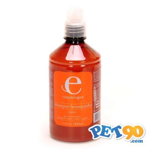 Shampoo Branquinho com Extrato de Papaya Emporio Pet Shampoo Branquinho com Extrato de Papaya - 500m