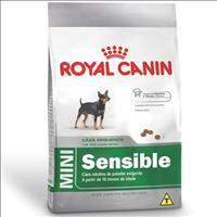 Ração Royal Canin Mini Sensible para Cães Adultos de Raças Pequenas de Paladar Sensível - 1 Kg