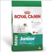 Ração Royal Canin Mini Junior para Cães Filhotes de Raças Pequenas de 2 a 10 Meses de Idade Ração Ro