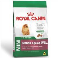 Ração Royal Canin Mini Indoor Adult para Cães Adultos de Raças Pequenas com 10 Meses ou mais Ração R