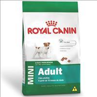 Ração Royal Canin Mini Adult para Cães Adultos de Raças Pequenas com 10 Meses ou mais de Idade Ração