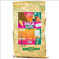 Ração Extrusada para Reprodução de Psitacídeos Médio Megazoo - 12kg