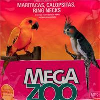 Ração Extrusada para Calopsitas e Maritacas Megazoo - 12kg