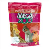 Ração Extrusada para Calopsitas e Maritacas Megazoo - 350gr